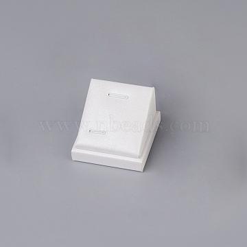 White Imitation Leather Pendant Displays
