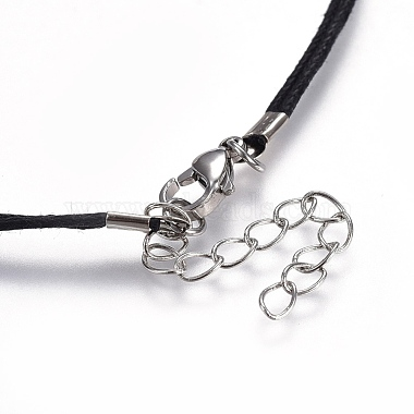 Chinese Waxed Cotton Cord Pendant Necklaces(NJEW-JN02304-02)-4