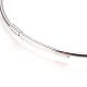 Adjustable 304 Stainless Steel Bangles Making(MAK-I013-04-P)-2