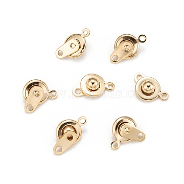 Golden Stainless Steel Snap Clasps