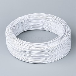Iron Wires, with Rubber Covered, White, 18 Gauge, 1mm; 200yards/roll(MW-R002-01)