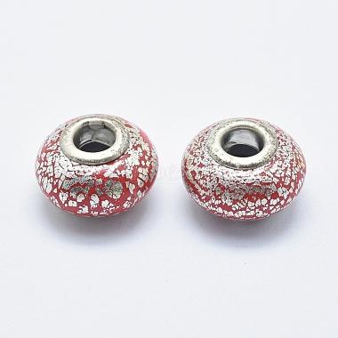 Handmade Polymer Clay European Beads(CLAY-K002-B04)-2