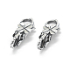 Thai Sterling Silver Lobster Claw Clasps(STER-L055-052AS)-1
