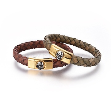 Mixed Color Leather Bracelets