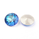 Pointed Back & Back Plated Glass Rhinestone Cabochons(X-RGLA-J012-8mm-001BB)-2