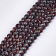 Natural Garnet Beads Strands(G-S354-42B)-1