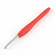Aluminum Crochet Hooks with Rubber Handle Covered(TOOL-R094)-3