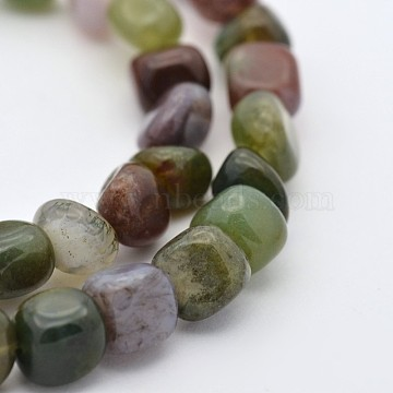 400mm Nuggets Indian Agate Beads