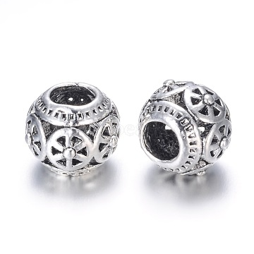 11mm Rondelle Alloy Beads