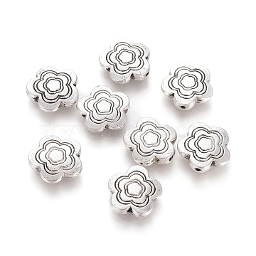 14mm Flower Alloy Beads