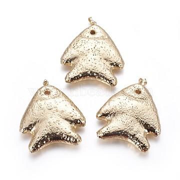 Golden Fish Lava Big Pendants