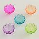 Transparent Acrylic Flower Bead Caps(X-TACR-Q004-M01)-1