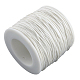 Waxed Cotton Thread Cords(YC-R003-1.0mm-101)-1