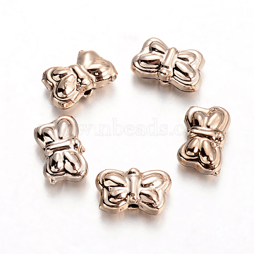 Golden Butterfly Alloy Beads