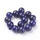 Natural Lapis Lazuli Beads Strands(X-G-G087-14mm)-2