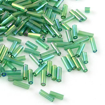 4mm SeaGreen Glass Beads