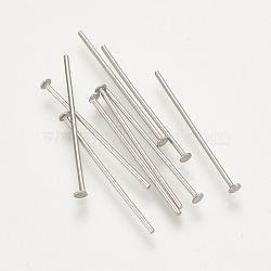304 контакты из нержавеющей стали, нержавеющая сталь цвет, 40x0.7 mm; о 454 шт / 50 г(X-STAS-S076-75-40mm)
