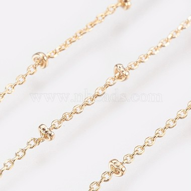 Long-Lasting Plated Brass Cable Chain Necklaces(X-NJEW-K112-09G-NF)-3