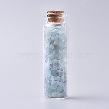 Bottle Aquamarine Decoration