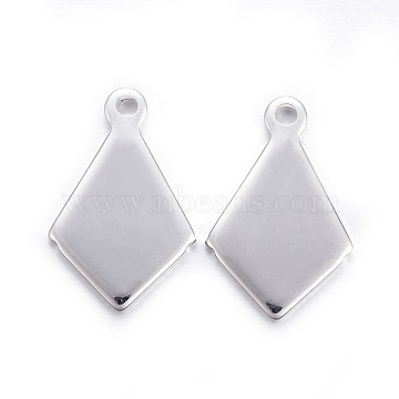 Silver Others Stainless Steel Charms