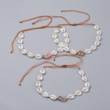 Adjustable Nylon Thread Braided Necklaces(NJEW-JN02706-M)-1