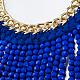 Zinc Alloy Bib Statement Necklaces(NJEW-BB32380-G)-2