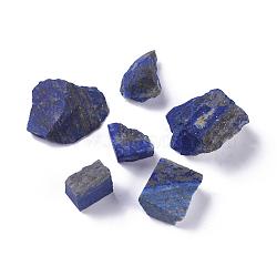 Perles brutes de lapis-lazuli naturelles brutes, perles non percées / sans trou, nuggets, 19~43x18~39x12~17 mm; environ 6 pcs / 100 g, 100 g / sac(G-WH0003-07)