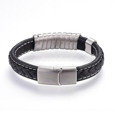 Leather Cord Bracelets(BJEW-F354-16P)-2