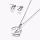 304 Stainless Steel Jewelry Sets(X-SJEW-L141-052B)-1