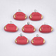 Handmade Porcelain Charms(PORC-T002-74)-1