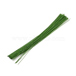 Paper Twist Ties, with Iron Core, Multifunctional Twist Plant Ties, for Plants Garden Office and Home, LimeGreen, 360x0.9mm(AJEW-WH0021-18B-03)