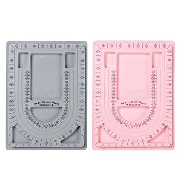 Mixed Color Plastic Bead Design Boards