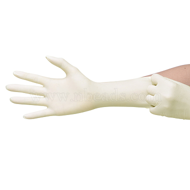 Craft Rubber Gloves(X-AJEW-E034-65M)-2