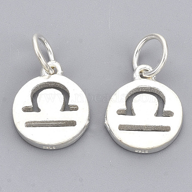 925 Sterling Silver Charms(X-STER-T002-44S-08)-2