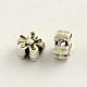 Tibetan Style Zinc Alloy Flower Beads(TIBEB-R061-137)-1