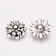 Alloy Rhinestone Snap Buttons(X-SNAP-T001-95)-2