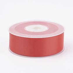 """Ruban de satin mat double face, Ruban de satin de polyester, rouge, (1-1/4"""")mm, 32yards / roll (100m / roll)(SRIB-A013-32mm-235)"""