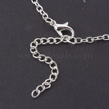Glass Pendant Necklaces(NJEW-MSMC002-07S)-4