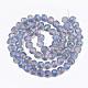 Electroplate Glass Beads Strands(EGLA-T018-01)-3
