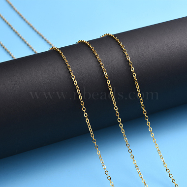 Brass Cable Chains(X-CHC-T008-06A-G)-2