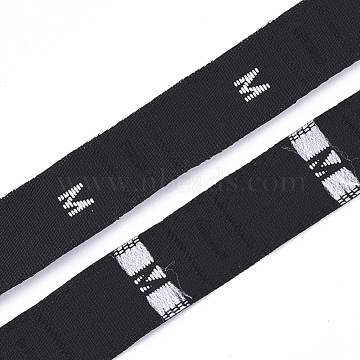 Black Cloth Ribbon