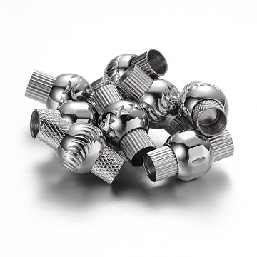 Stainless Steel Color Column Stainless Steel Clasps