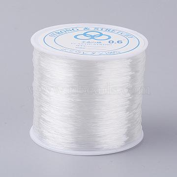 Elastic Crystal Thread, Clear, 0.6mm, about 109.36 yards(100m)/roll(X-EW-0.6D-1)