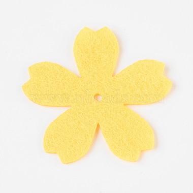 Sakura Non Woven Fabric Embroidery Needle Felt for DIY Crafts(X-DIY-WH0078-02)-2