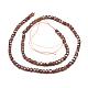 Natural Garnet Beads Strands(G-D0003-B12)-2