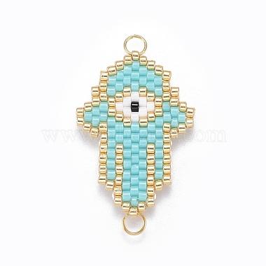 MIYUKI & TOHO Handmade Japanese Seed Beads Links(SEED-A029-HH02)-2