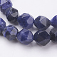 Natural Sodalite Beads Strands(G-J376-65A-10mm)-3