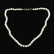Elegant Pearl Beaded Necklaces(NJEW-Q282-04)-1