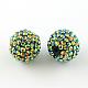 AB-Color Resin Rhinestone Beads(RESI-S315-12x14-04)-1