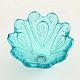 Transparent Acrylic Flower Bead Caps(X-TACR-Q004-M01)-3